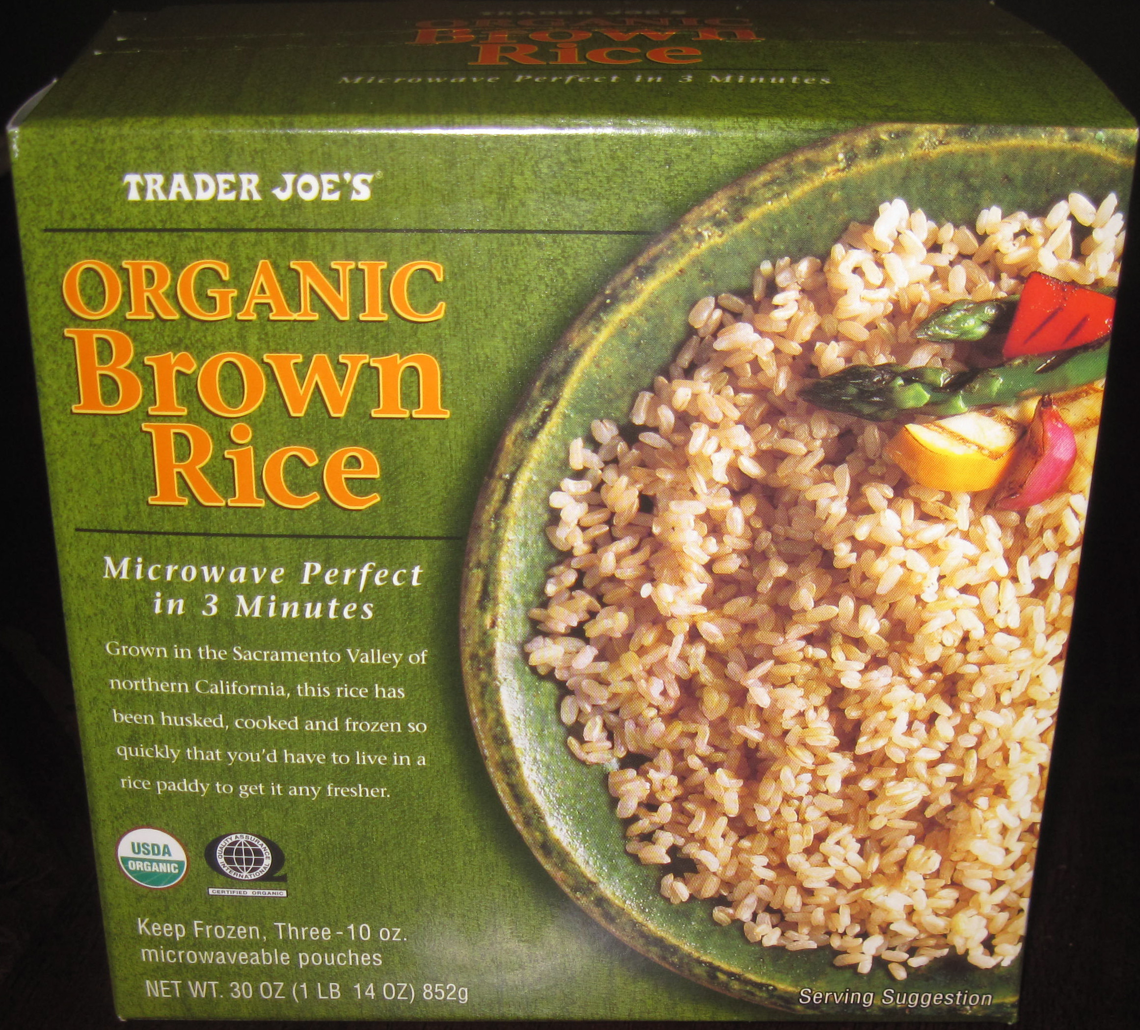 Trader Joe'S Organic Brown Rice  Ways To Boost Iron A Ve arian or Vegan Diet