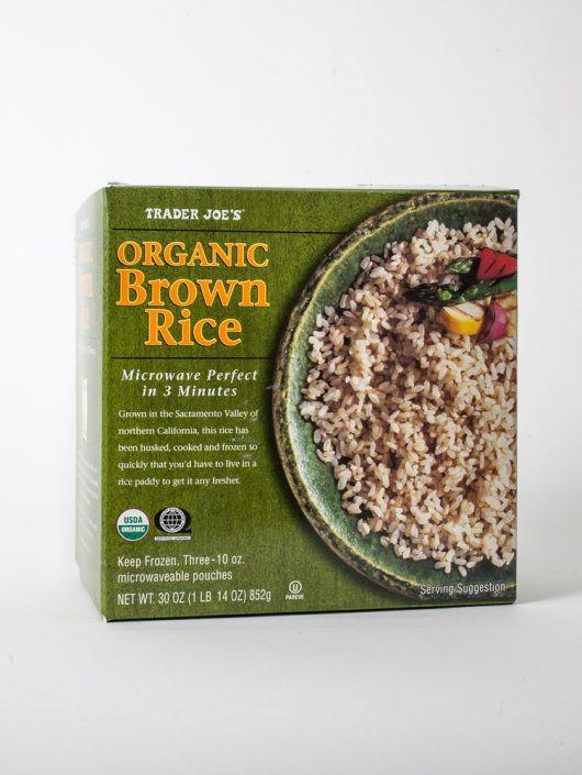 Trader Joe'S Organic Brown Rice  6 Secret Gems in Trader Joe's Frozen Food Aisle