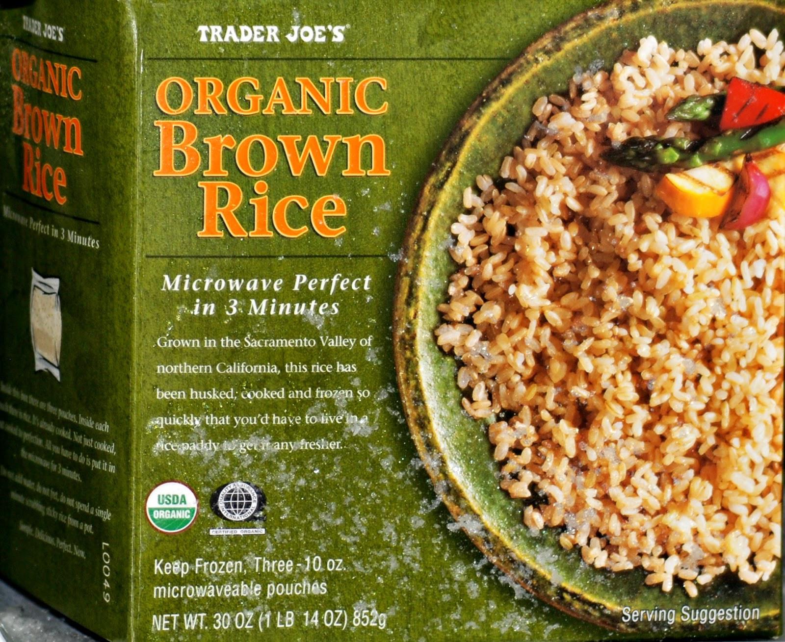 Trader Joe'S Organic Brown Rice  Favorite Trader Joe s Convenience Foods