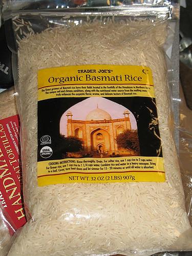 Trader Joe'S Organic Brown Rice  Trader Joe s Organic Basmati Rice 32 oz bag
