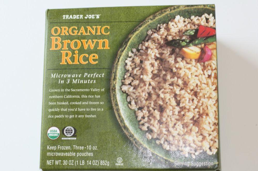 Trader Joe'S Organic Brown Rice  Easy Buffalo Chicken — Andrea Isabelle Lucas
