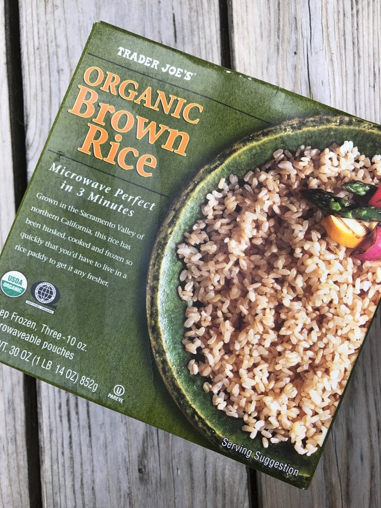 Trader Joe'S Organic Brown Rice  Trader Joe s Frozen Brown Rice