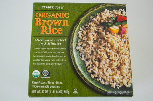 Trader Joe'S Organic Brown Rice  My Trader Joe s Favorites Hazel and Everett