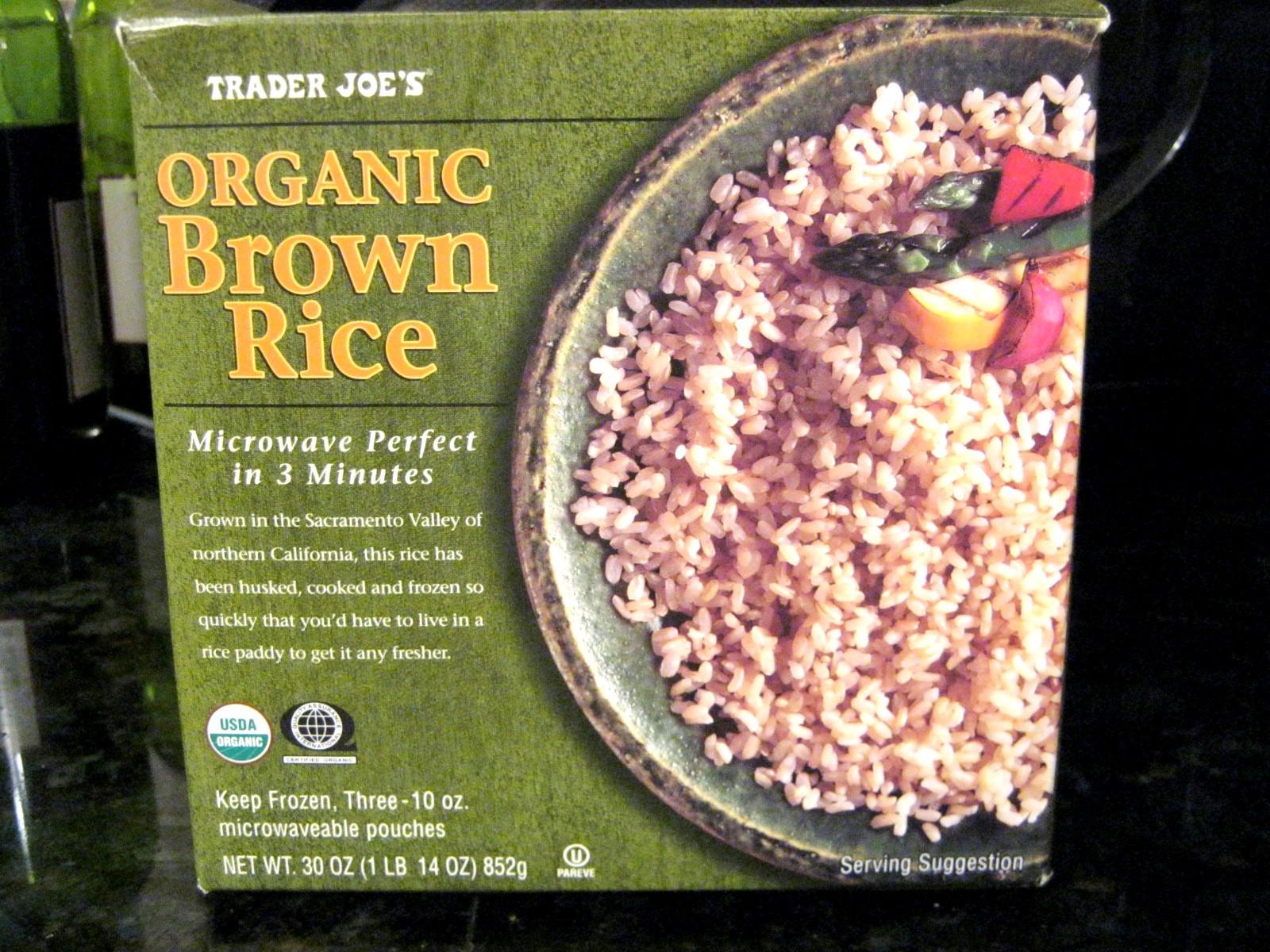 Trader Joe'S Organic Brown Rice  Bowden Life 101 Trader Joe s Brown Rice with Veggies