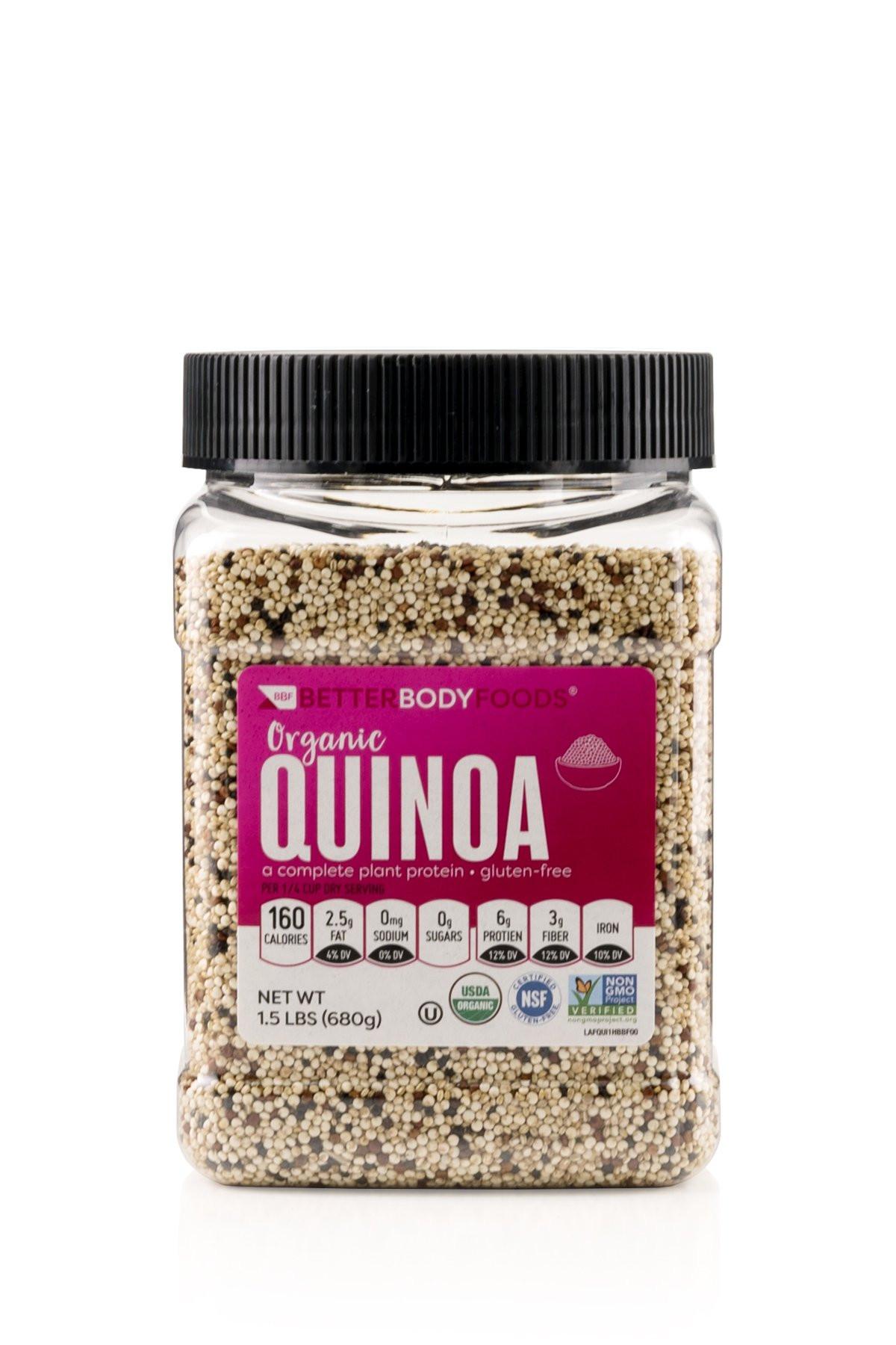 Trader Joe'S Organic Quinoa  Amazon Trader Joe s Organic Tricolor Quinoa 16 oz