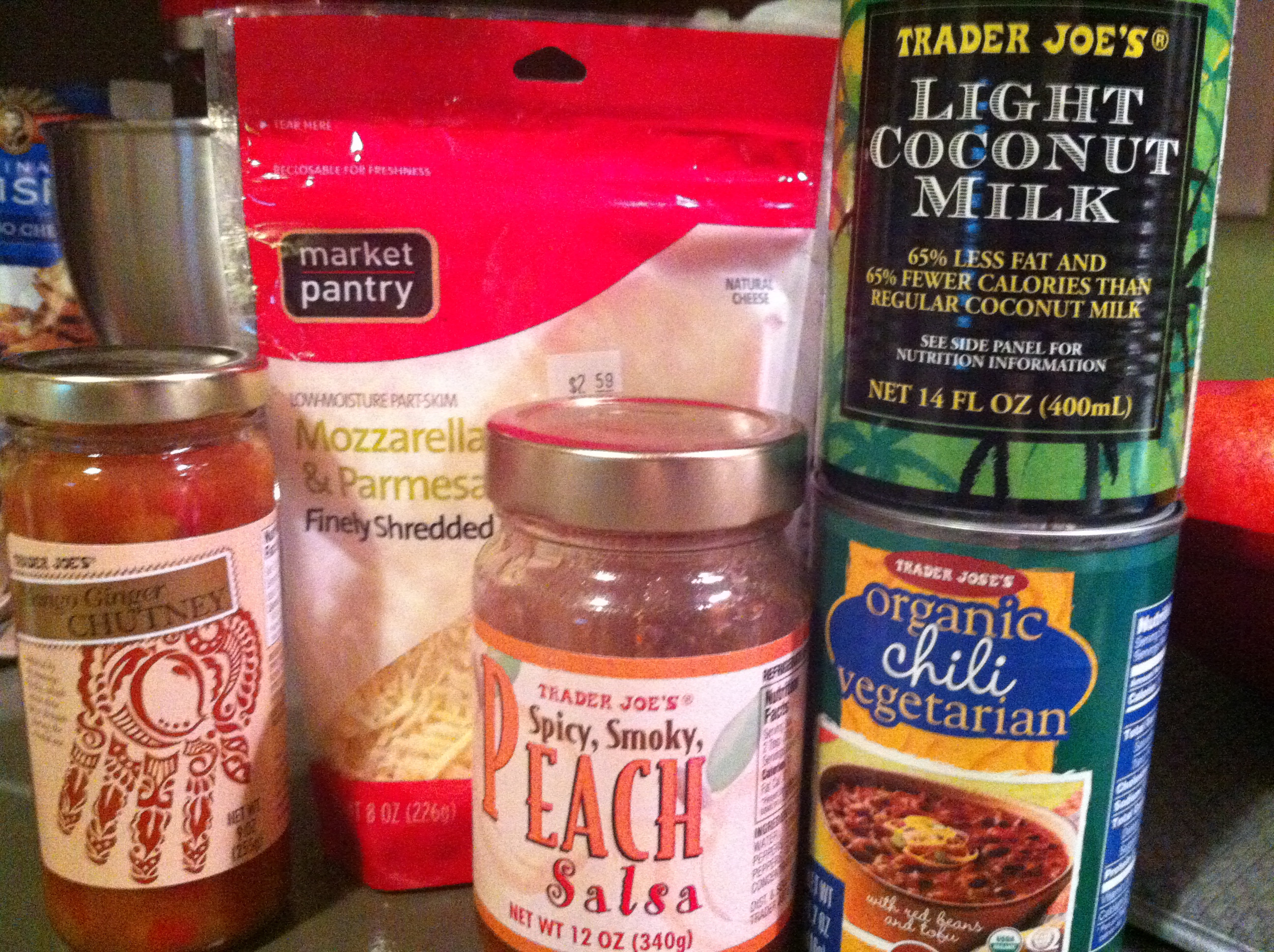 Trader Joe'S Organic Vegetarian Chili  Sweet n' Spicy Macaroni & Chili