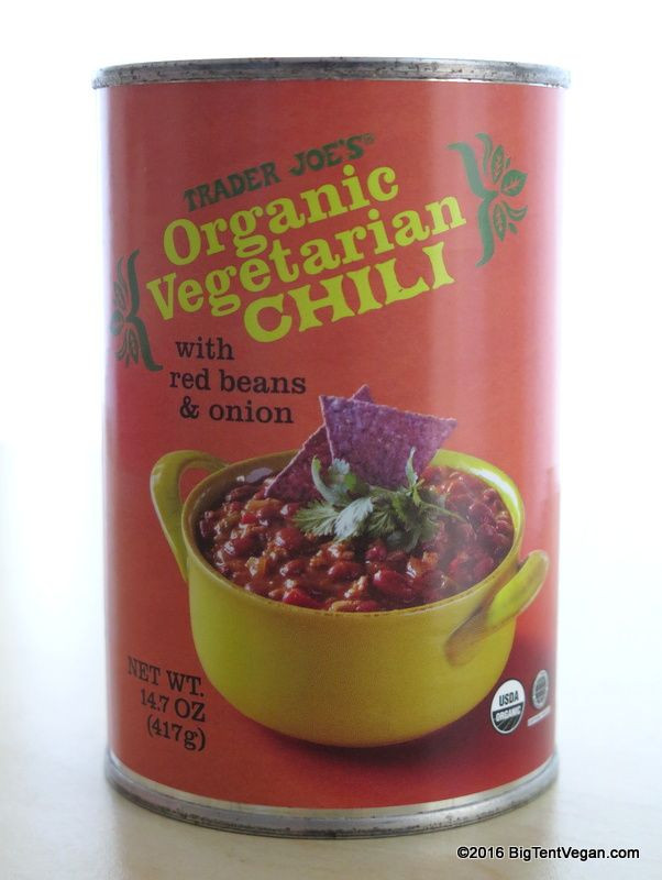 Trader Joe'S Organic Vegetarian Chili  17 Best images about Vegan at Trader Joe s on Pinterest