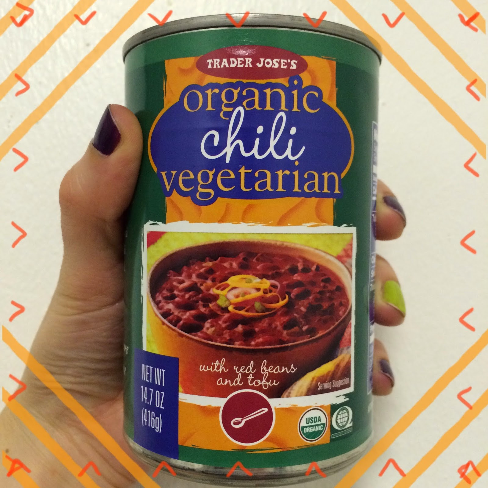 Trader Joe'S Organic Vegetarian Chili  Trader Joe's Tuesday Organic Ve arian Chili – Meghan Sara