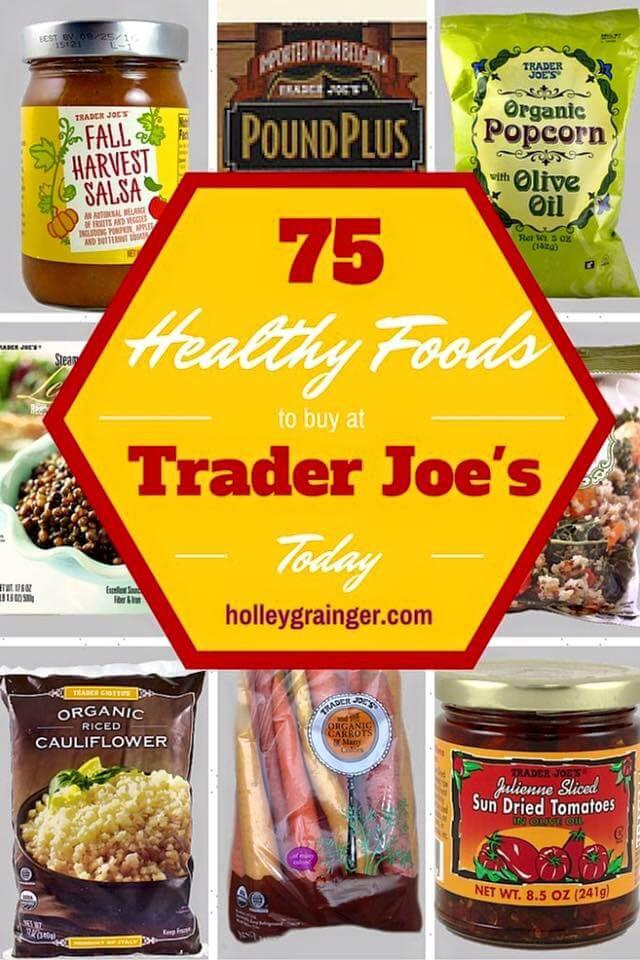 Trader Joe'S Snacks Healthy  Healthy Foods to Buy at Trader Joe s