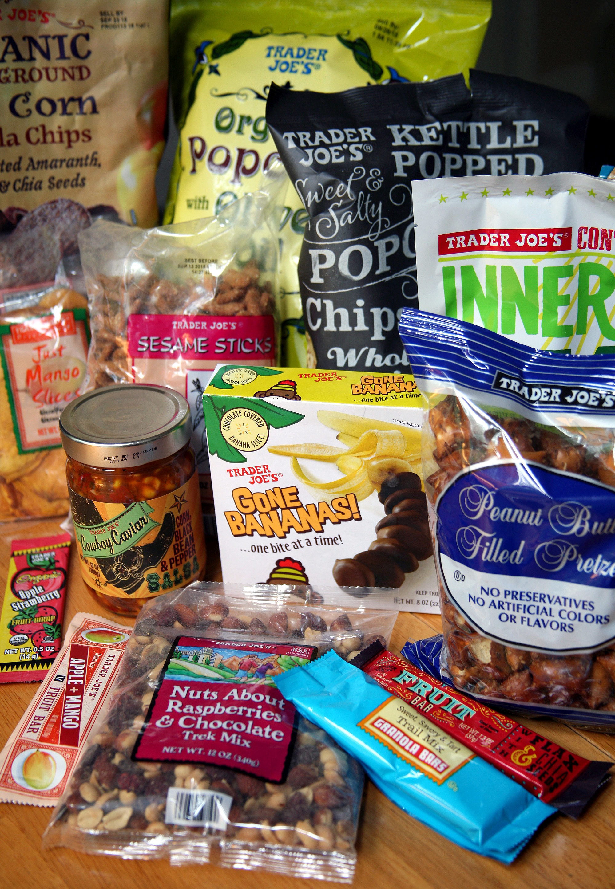 Trader Joe'S Snacks Healthy  Best Trader Joe s Snacks