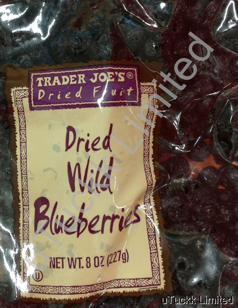 Trader Joe'S Snacks Healthy  8oz Trader Joe s Wild Blueberries Dried Fruit Healthy