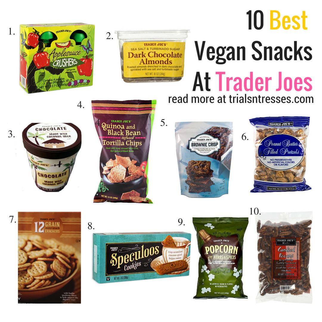 Trader Joes Healthy Snacks  Best Vegan Snacks From Trader Joes Trials N Tresses