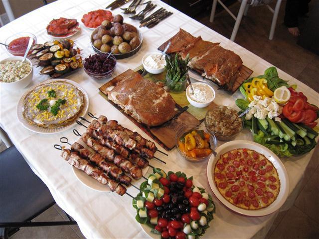 Traditional American Easter Dinner  Ukrainian Easter Dinner Ukrainian Easter Bread Paska