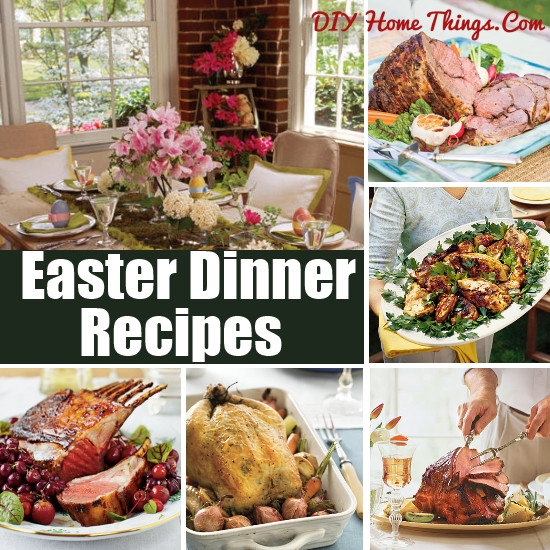 Traditional American Easter Dinner  Traditional Easter Dinner Recipes