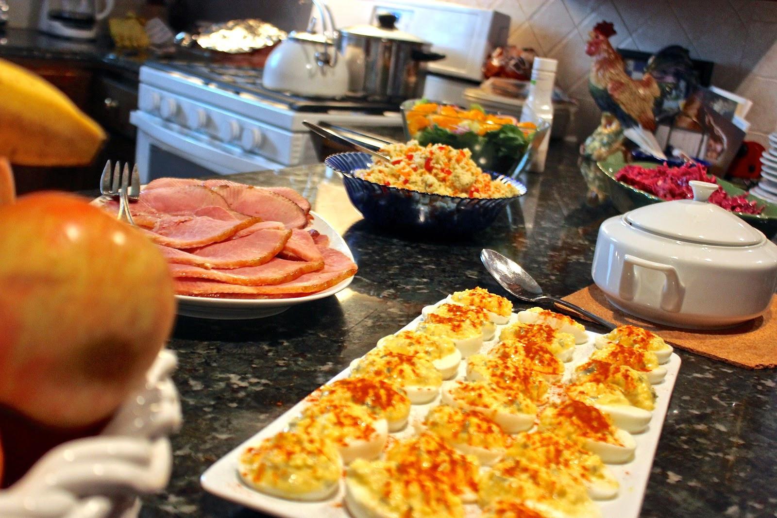 Traditional American Easter Dinner  Katherine Easter Sunday Recap