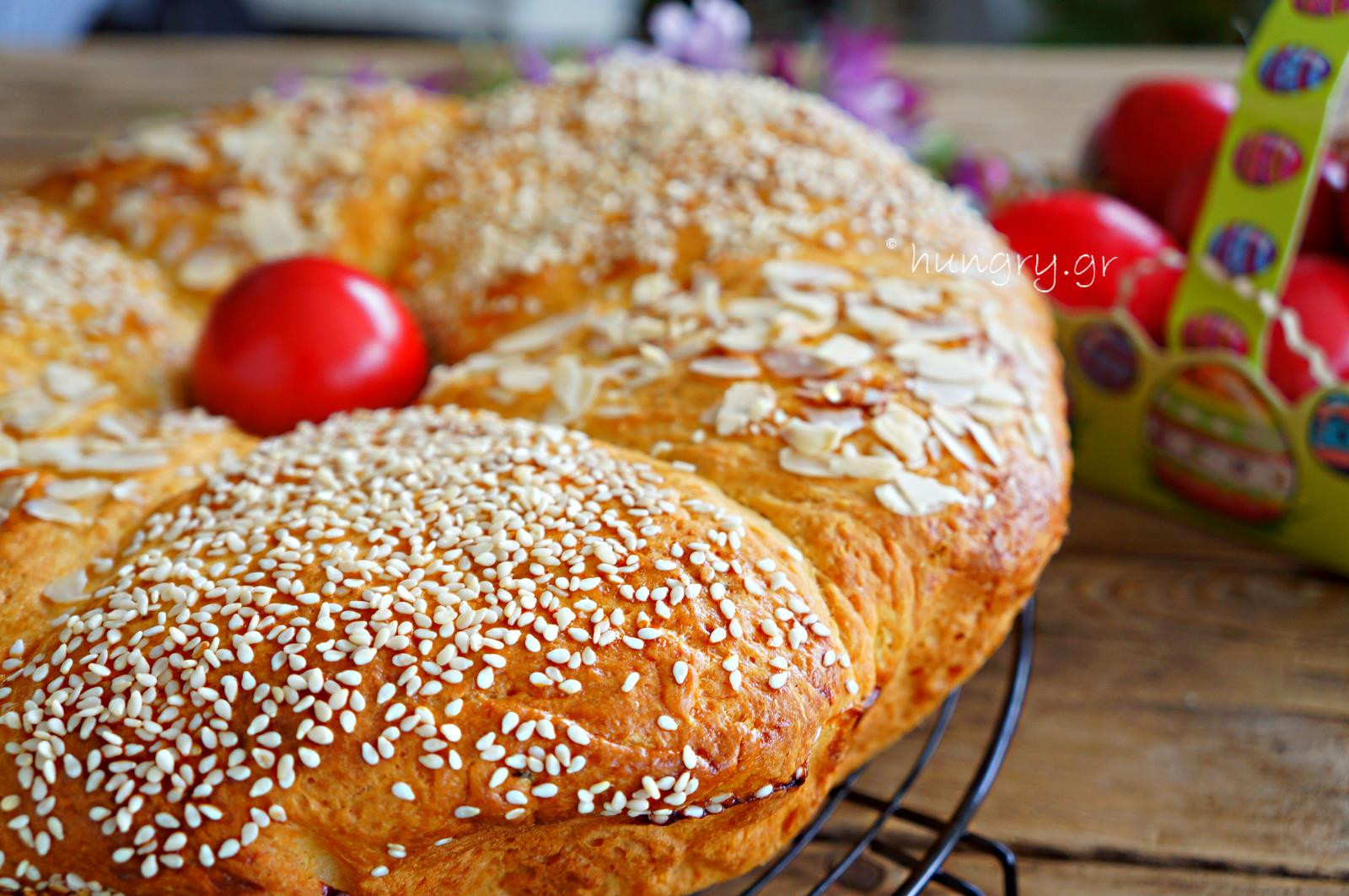 Traditional Easter Bread  Kitchen Stories Traditional Greek Easter Bread