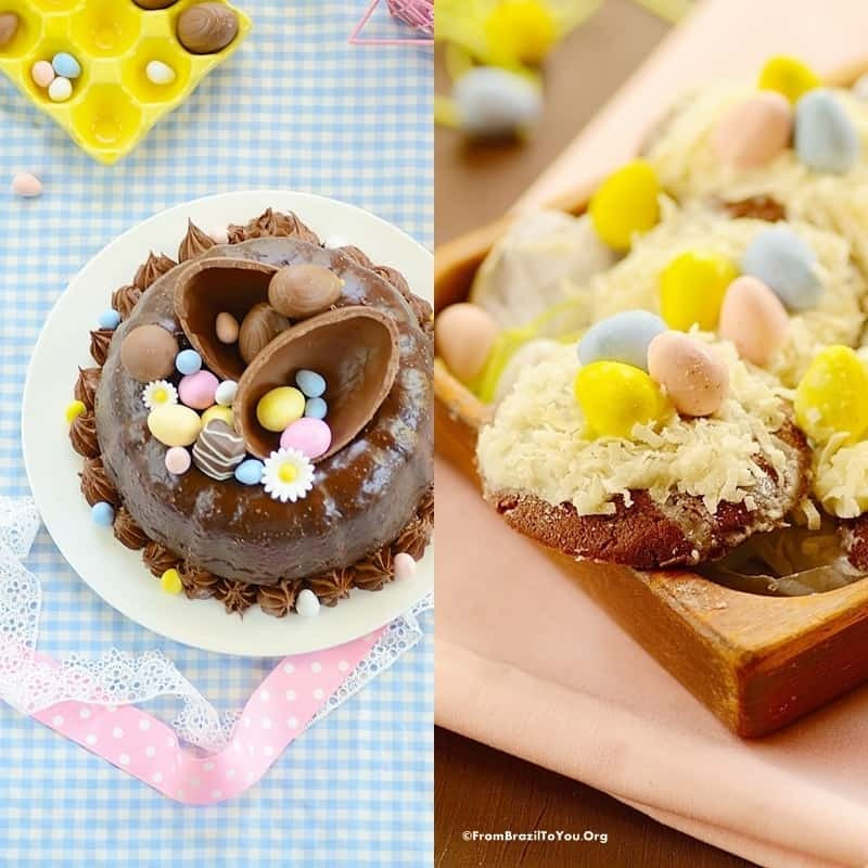 Traditional Easter Desserts  6 Ingre nt Easy Easter Cookie Bars Easy and Delish