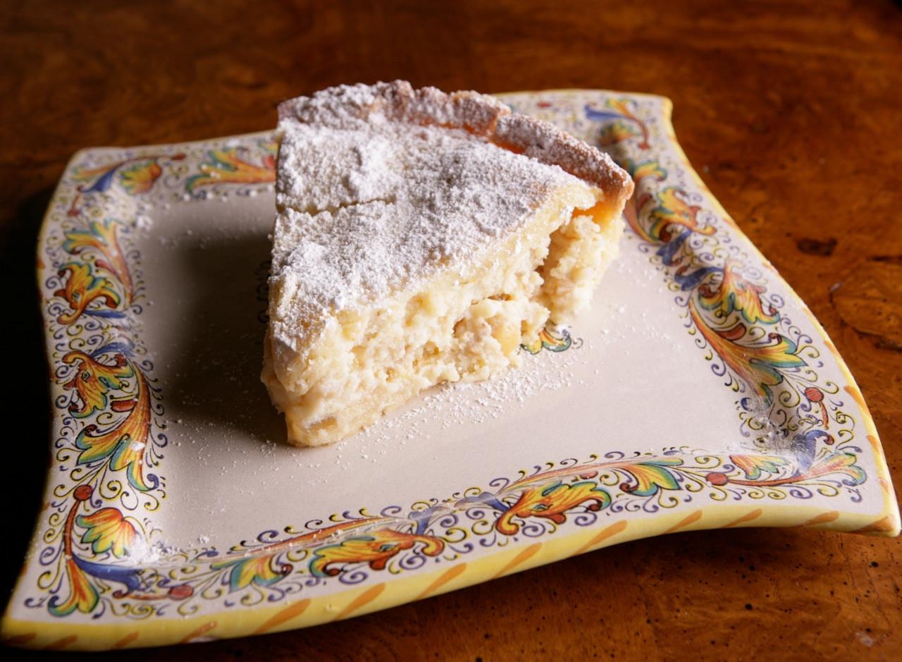 Traditional Easter Desserts  Pastiera di Grano Traditional Easter dessert of Naples