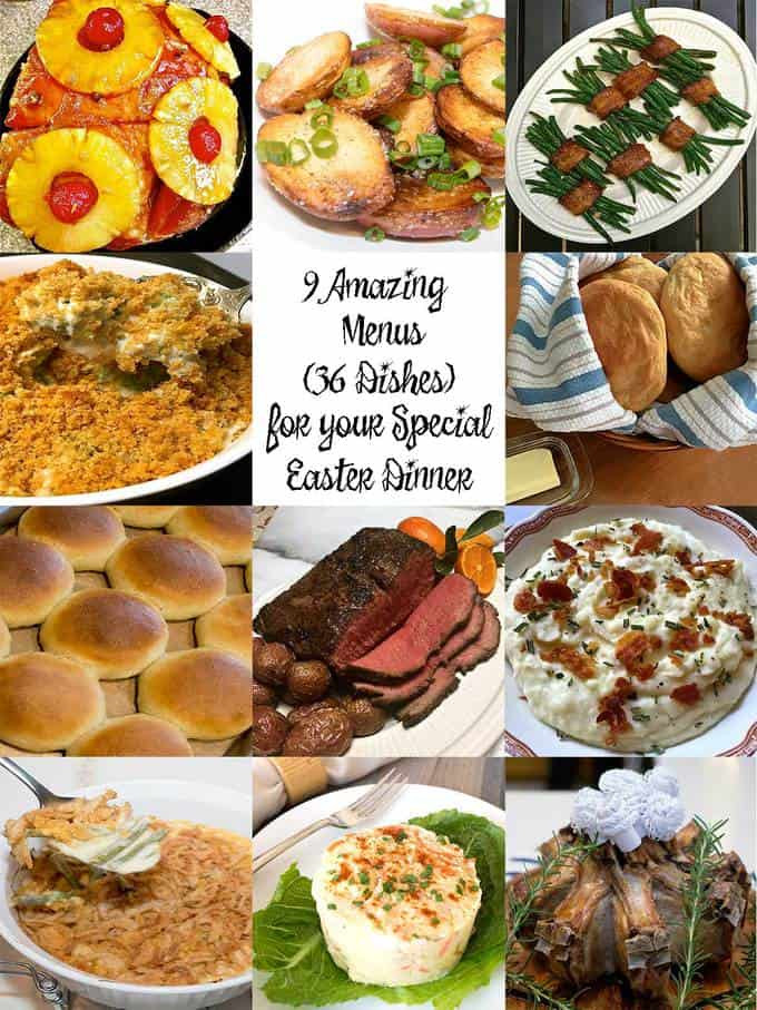 Traditional Easter Dinner  9 Amazing Menus for Your Special Easter Dinner The Pudge