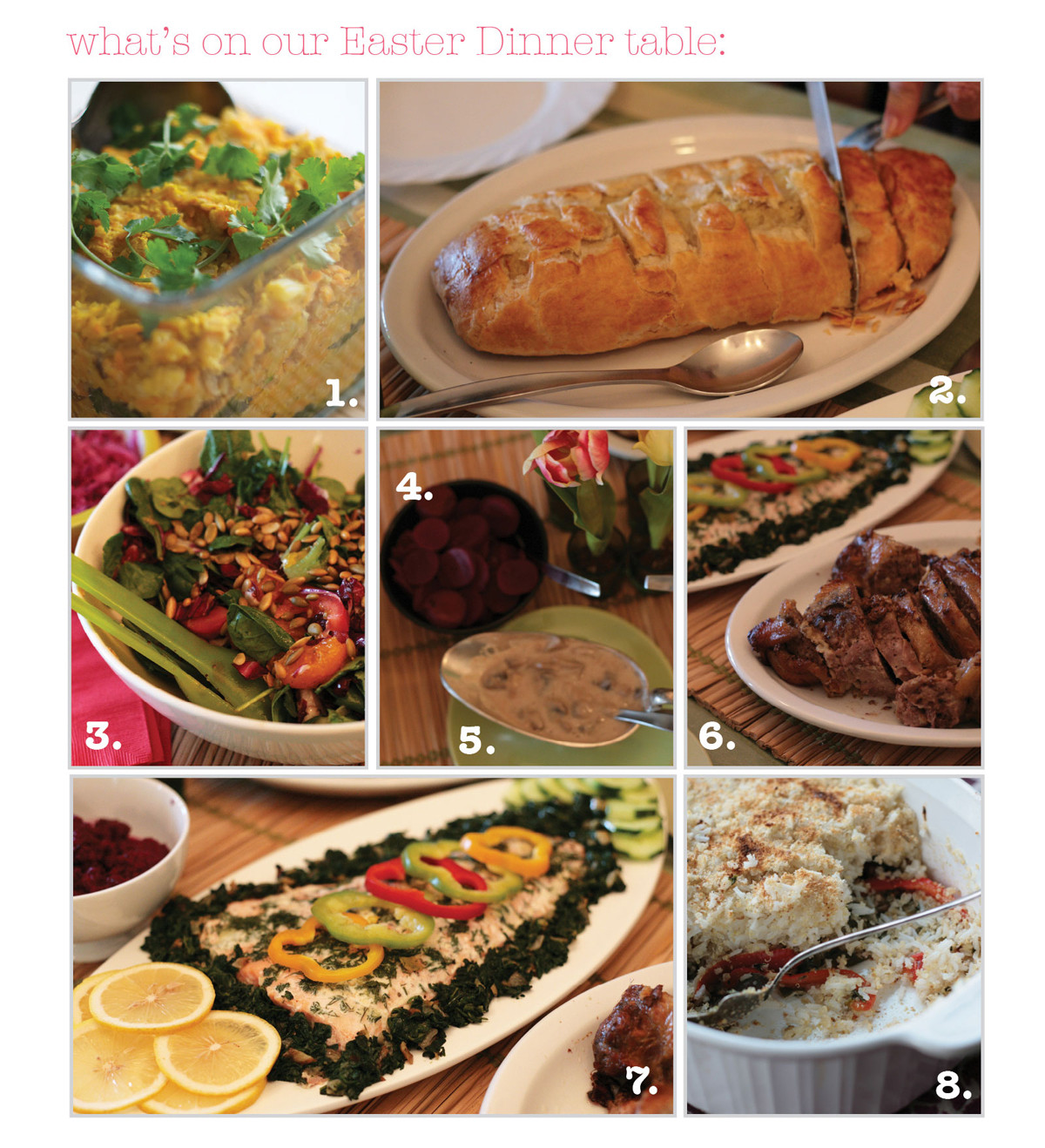 Traditional Easter Dinner Menu  delicious easter food Pure Ella