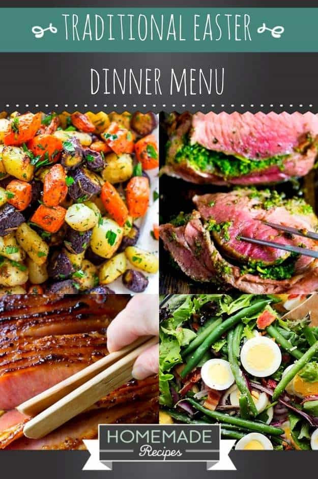 Traditional Easter Dinners  15 Traditional Easter Dinner Menu
