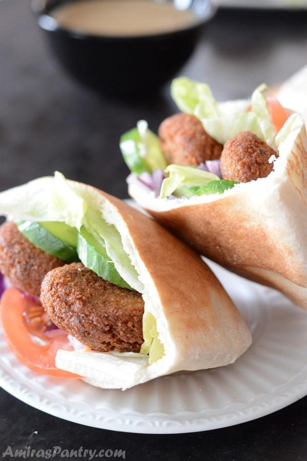 Traditional Middle Eastern Recipes  Traditional Falafel Recipe Feta Stuffed