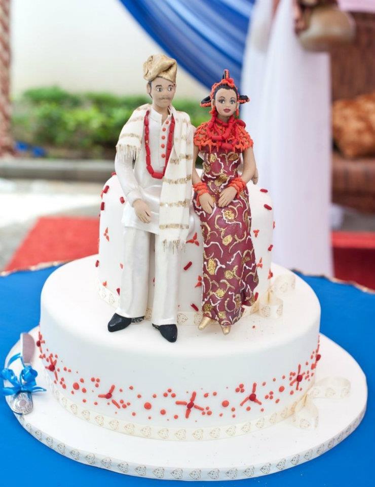 Traditional Wedding Cake Recipe  Nigerian Traditional Wedding Cakes Food Nigeria