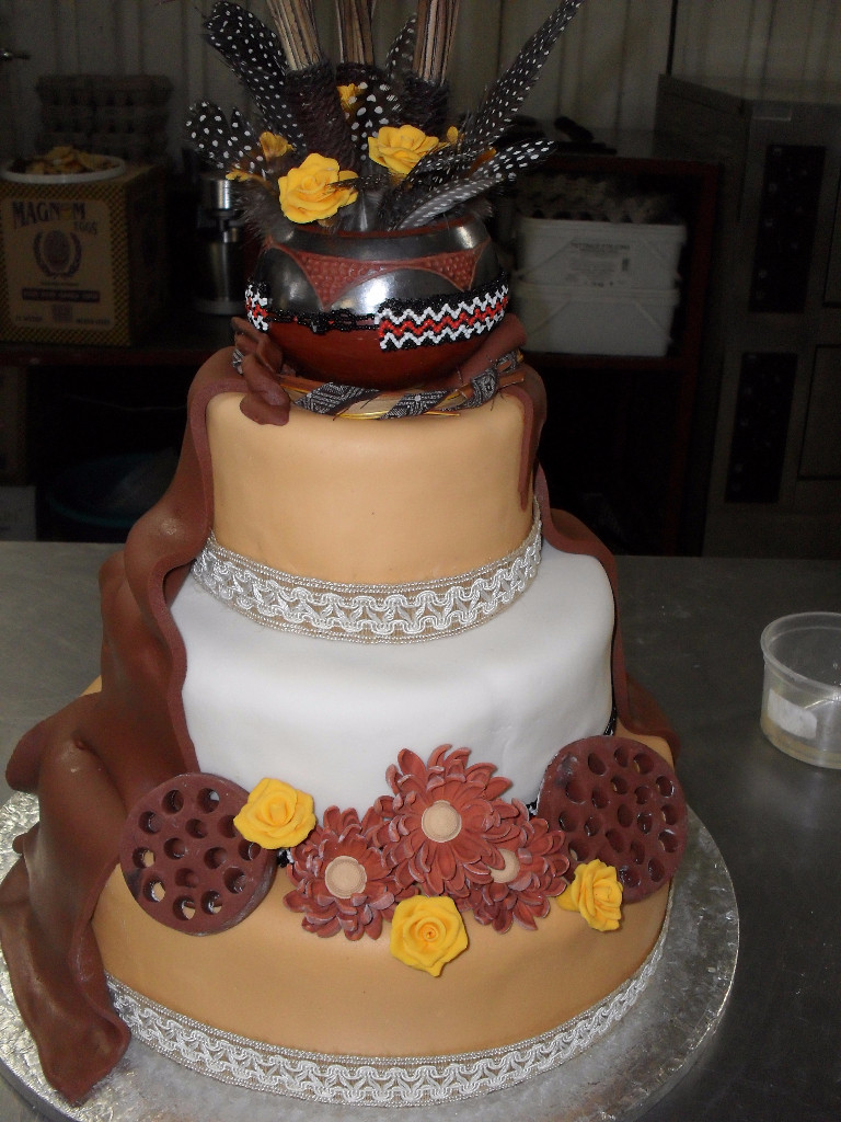 Traditional Wedding Cakes  African Traditional Wedding Cakes
