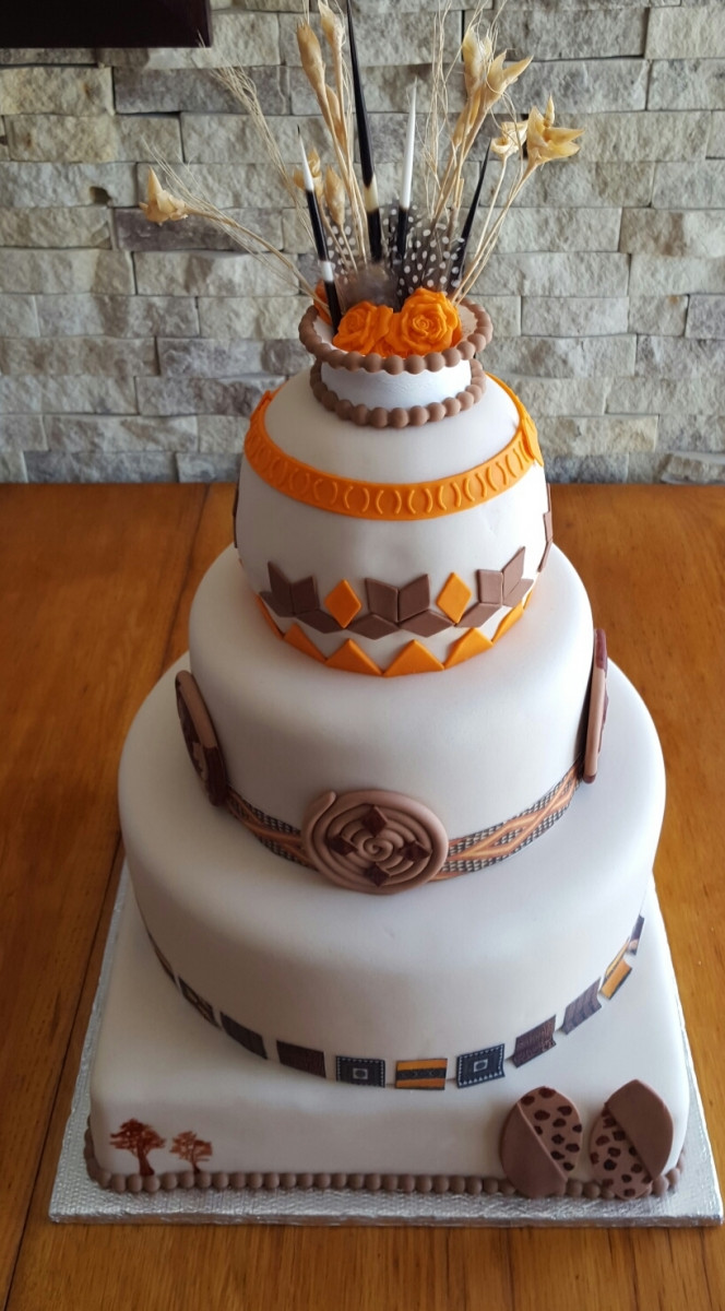 Traditional Wedding Cakes Pictures  AFRICAN TRADITIONAL CAKES
