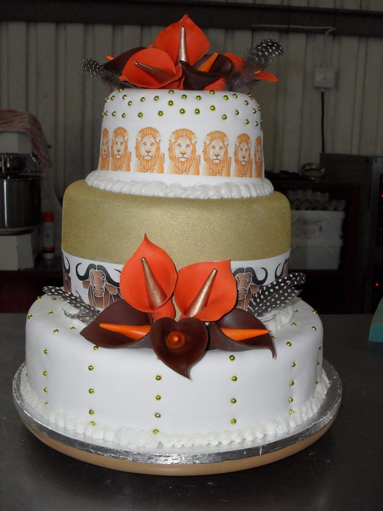 Traditional Wedding Cakes Pictures  African Traditional Wedding Cakes