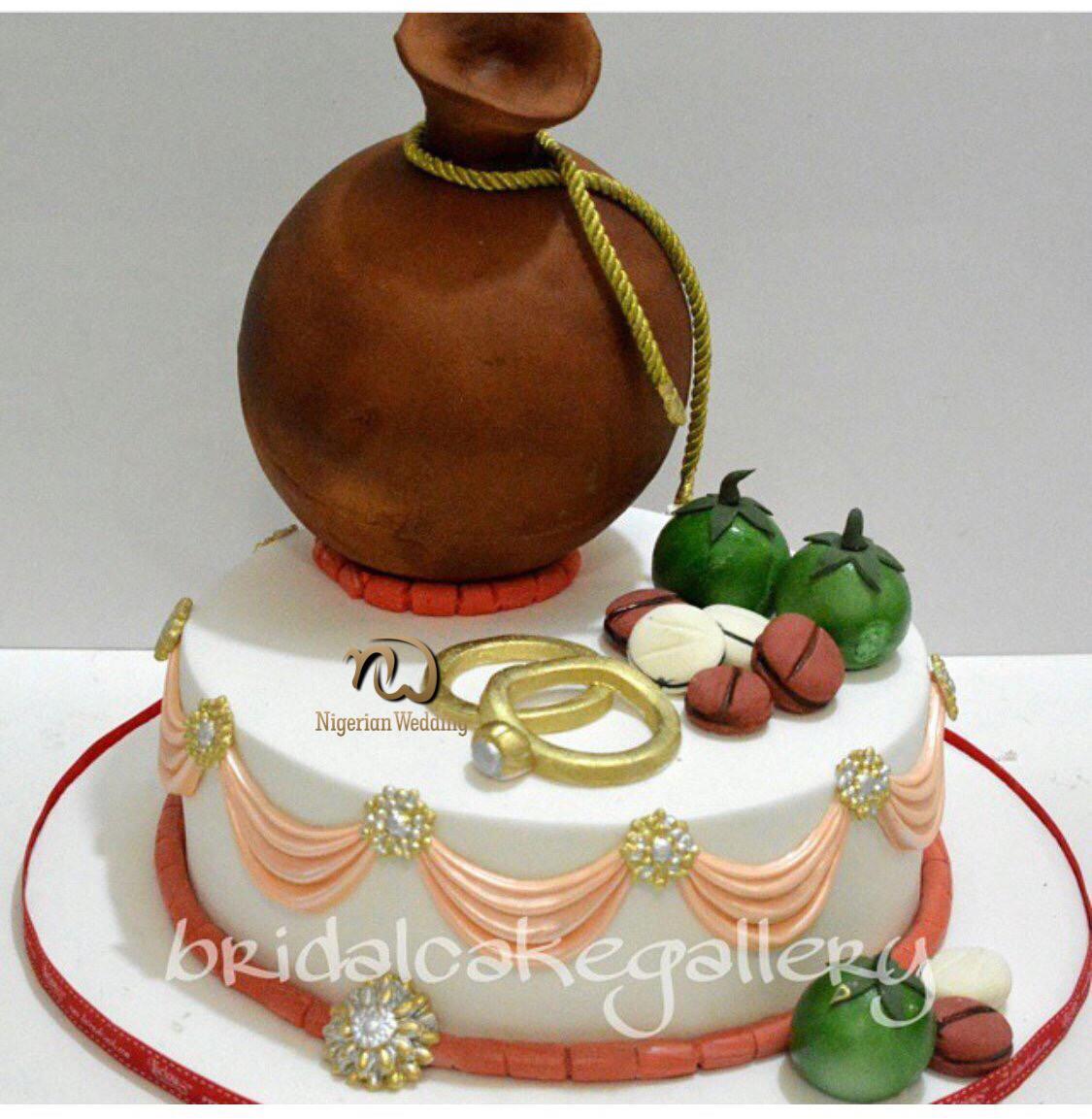 Traditional Wedding Cakes Pictures  Top 25 Yoruba Traditional Wedding Cakes Nigerian
