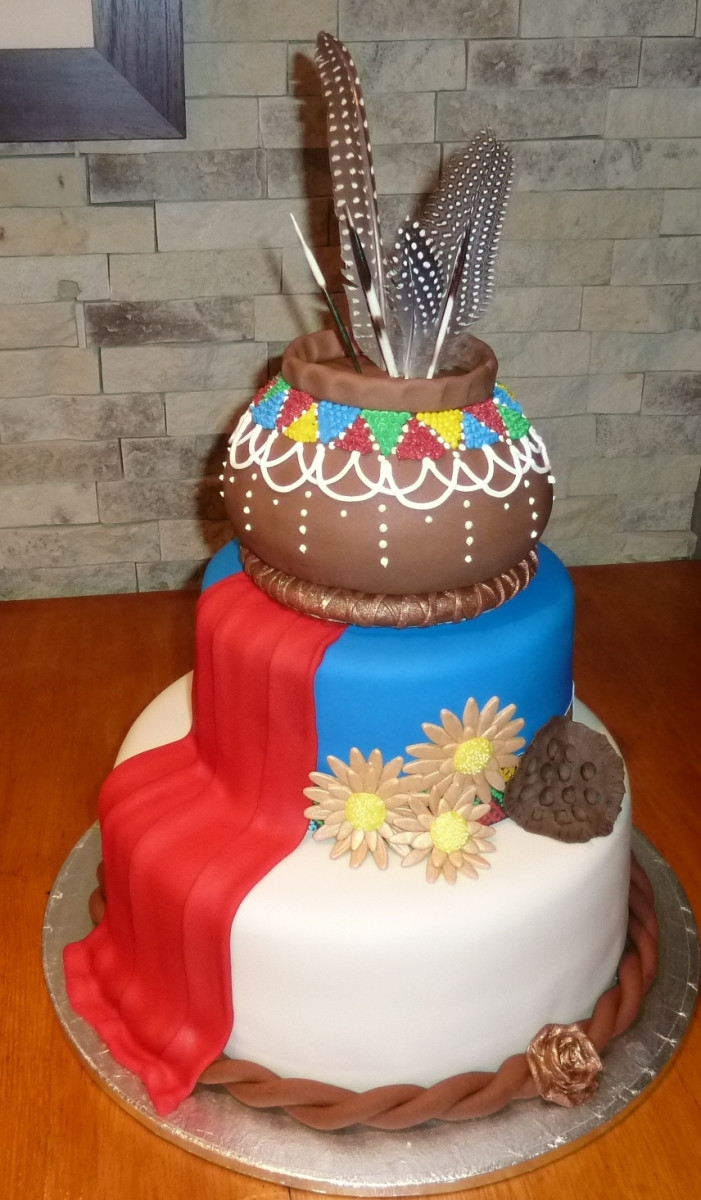 Traditional Wedding Cakes  AFRICAN TRADITIONAL CAKES