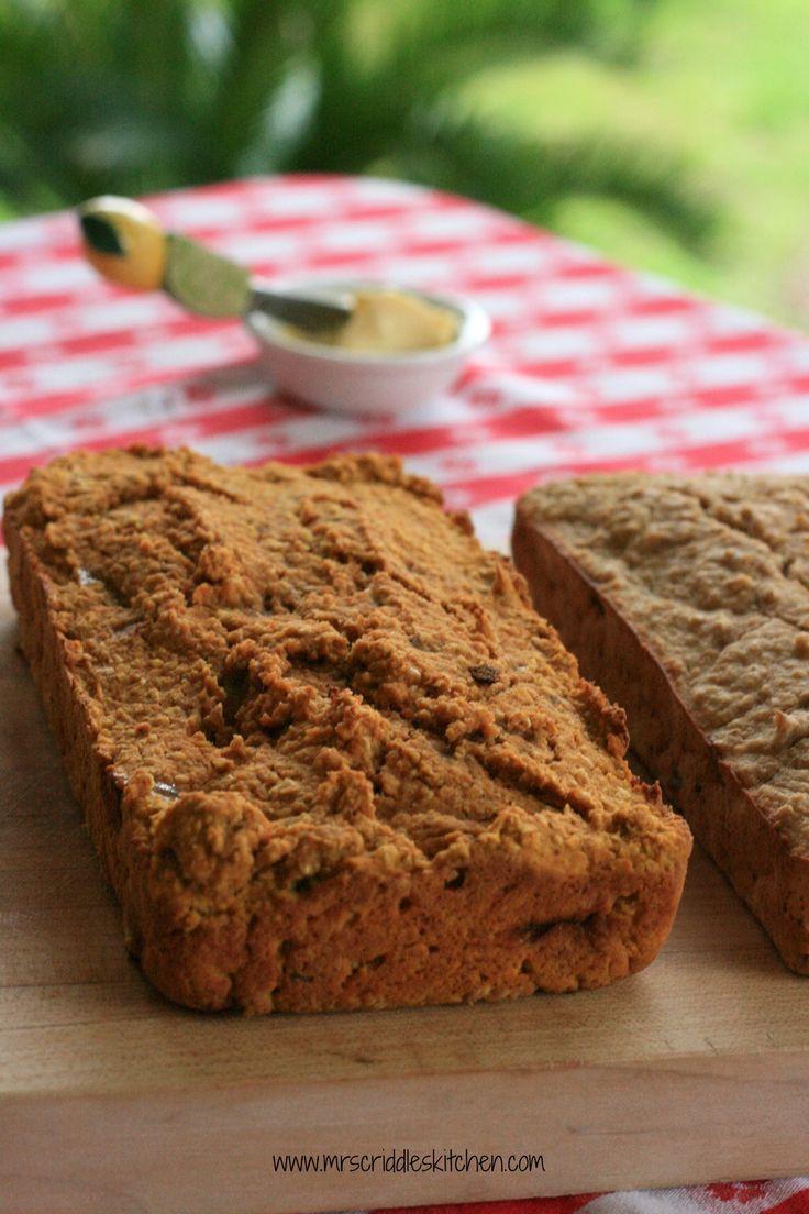 Trim Healthy Mama Bread  Oat Breads pumpkin & banana Recipe