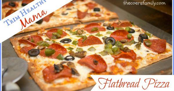 Trim Healthy Mama Bread  Low Carb Flatbread Pizza Recipe
