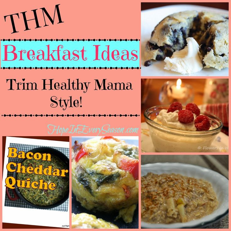 Trim Healthy Mama Breakfast  Recipes THM Breakfast Recipes Starting Your Morning
