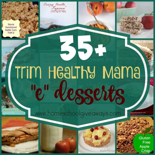 Trim Healthy Mama Desserts  98 best images about THM E Meals & Snacks on Pinterest