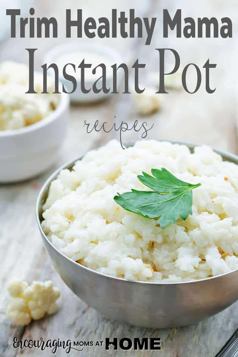 Trim Healthy Mama Instant Pot Recipes  Trim Healthy Mama Instant Pot Recipes for THM