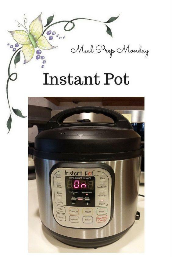 Trim Healthy Mama Instant Pot Recipes  Meal Prep Monday in my Instant Pot for my Trim Healthy