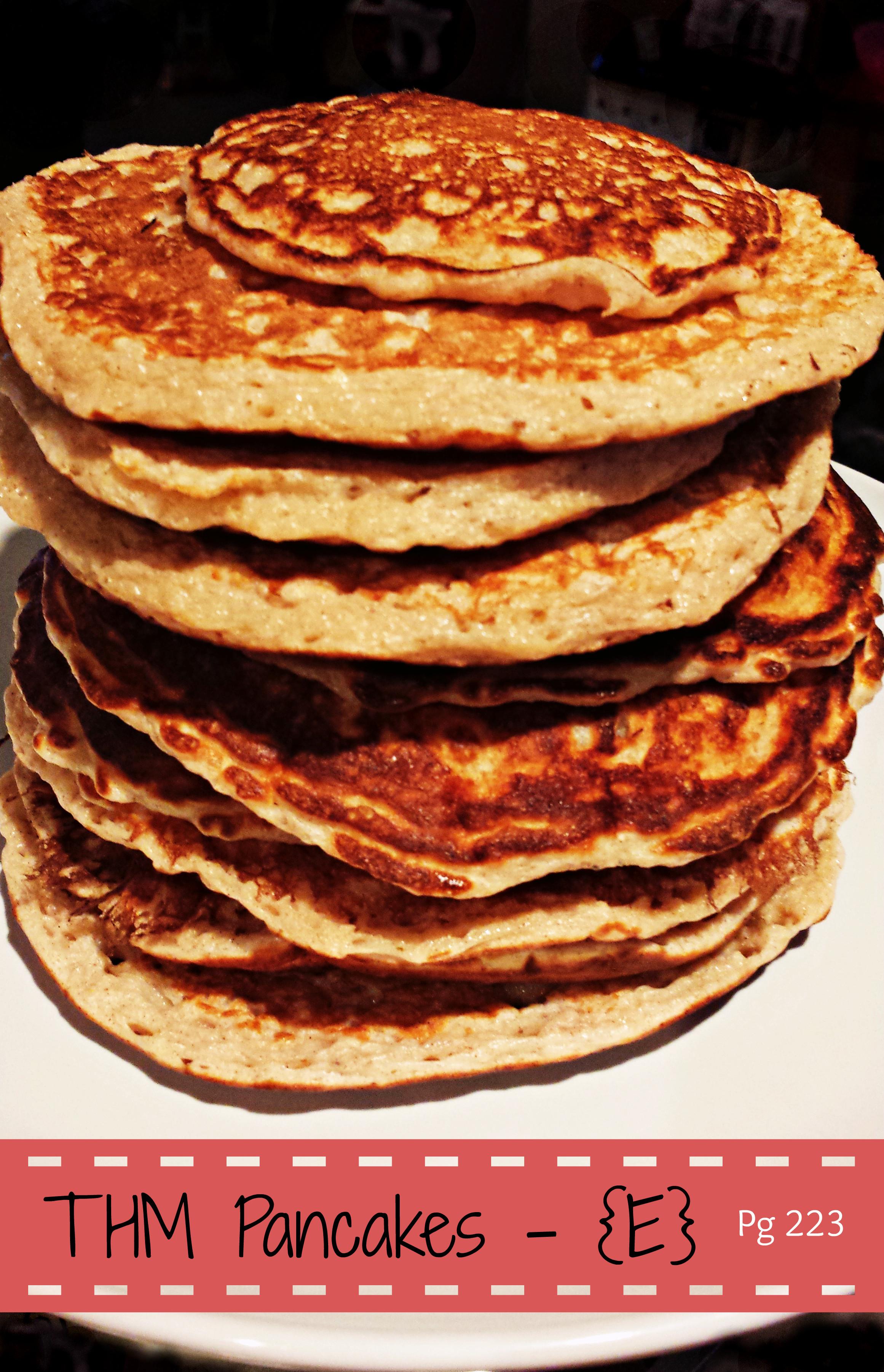 Trim Healthy Mama Pancakes  Trim Healthy Mama Yummy E Pancakes