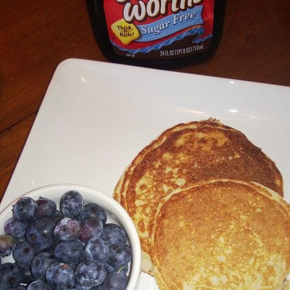 Trim Healthy Mama Pancakes  Trim Healthy Pancakes My husband loves these Trim