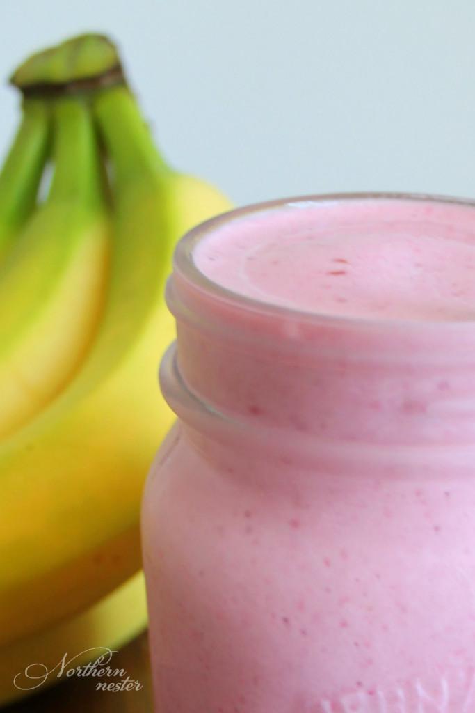 Trim Healthy Mama Smoothies  Berry Banana Baobab Smoothie
