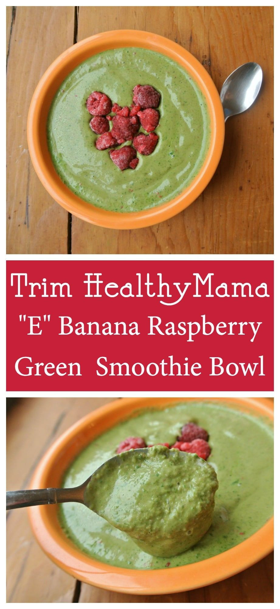 Trim Healthy Mama Smoothies  Trim Healthy Mama Green Smoothie Bowl E