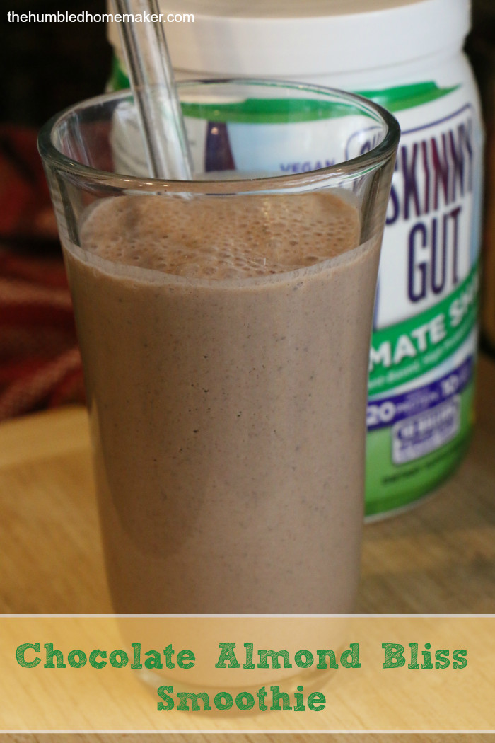 Trim Healthy Mama Smoothies  Chocolate Almond Bliss Smoothie Trim Healthy Mama