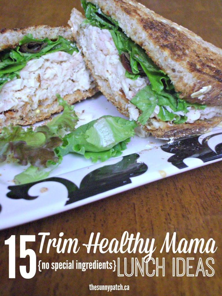 Trim Healthy Mama Snacks  FREE 15 Trim Healthy Mama Lunches Printable