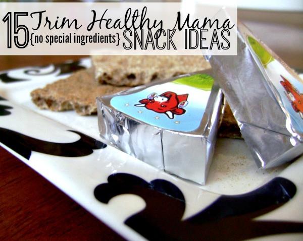 Trim Healthy Mama Snacks  FREE Trim Healthy Mama Snack Printable List Life of a