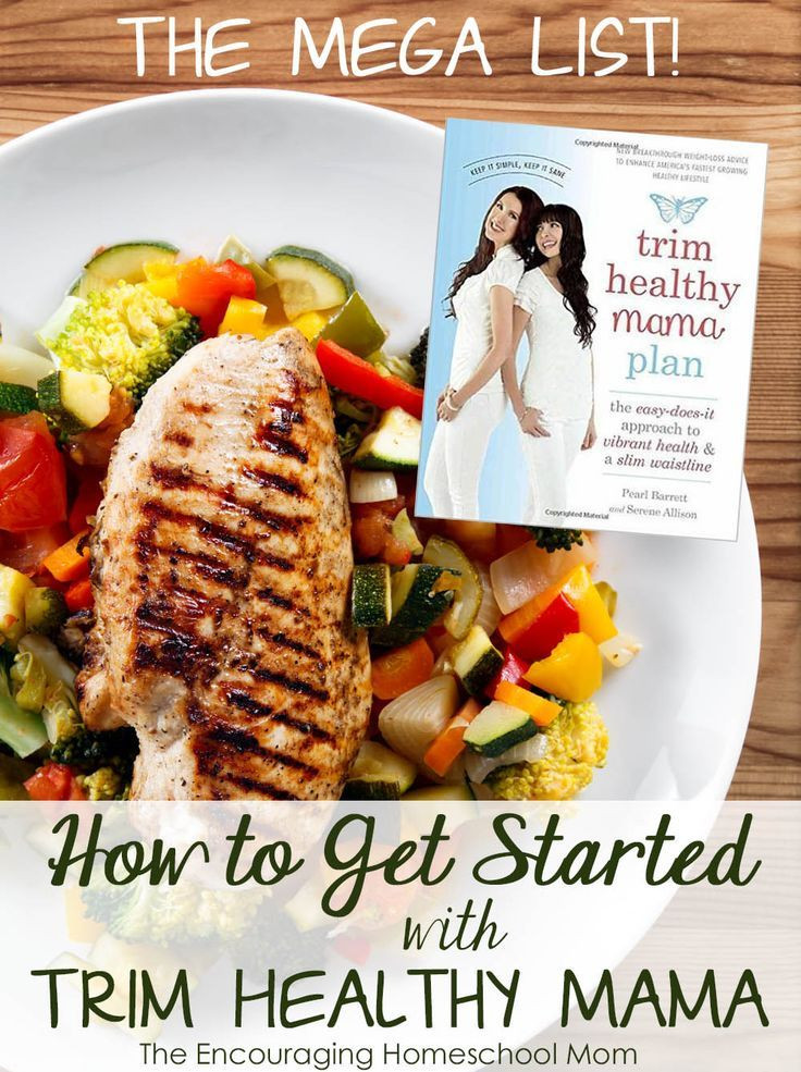 Trim Healthy Mama Snacks  The MEGA List of Getting Started with Trim Healthy Mama