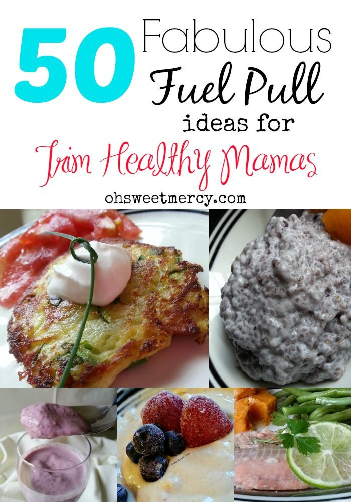 Trim Healthy Mama Snacks  50 Terrific Fuel Pull Snacks and Meals for the Trim