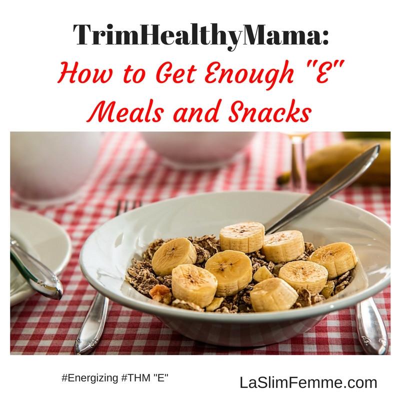 Trim Healthy Mama Snacks  Emeals Recipes Trim Healthy Mama