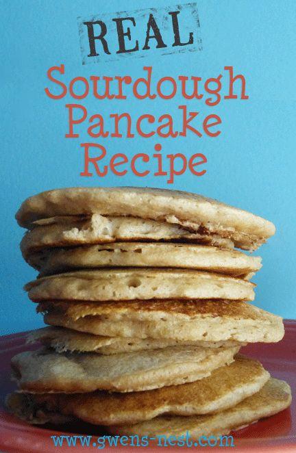 Trim Healthy Mama Sourdough Bread  Sourdough Pancakes Recipe