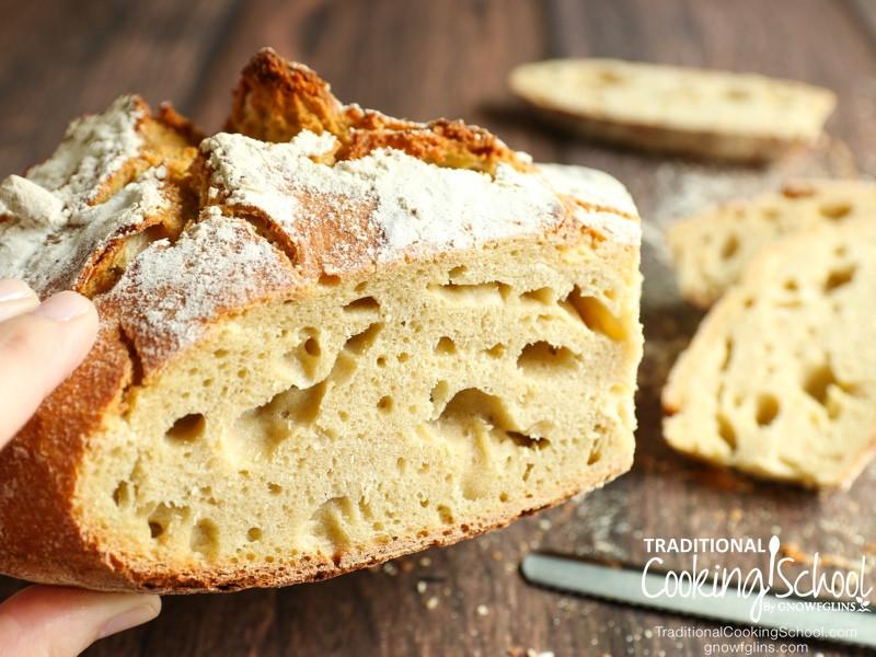 Trim Healthy Mama Sourdough Bread  Really Discard Half My Starter At Each Feeding
